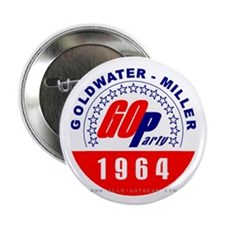 Goldwater Miller 1964 Button