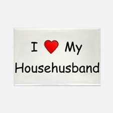 Love My Househusband Rectangle Magnet