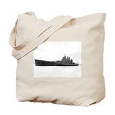 USS Washington Ship's Image Tote Bag