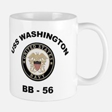 USS Washington BB 56 Mug