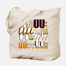 UU Typography (Autumn) Tote Bag