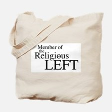 Religious LEFT Tote Bag