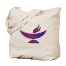UU Painted Chalice Tote Bag