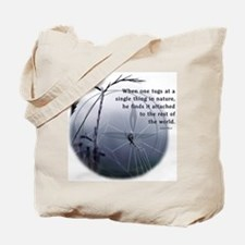 UU - Web of Life Tote Bag