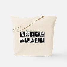 Famous UUs - no tagline Tote Bag