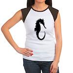 The Seahorse Women's Cap Sleeve T-Shirt