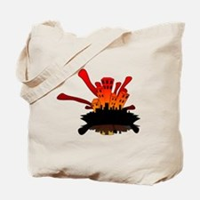 Cool Fire guy Tote Bag