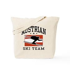 Austrian Ski Team Tote Bag