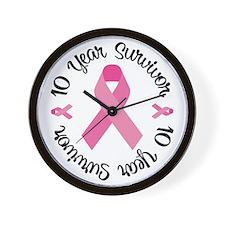 10 Year Survivor Wall Clock