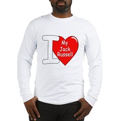 I Love My Jack Russell Long Sleeve T-Shirt