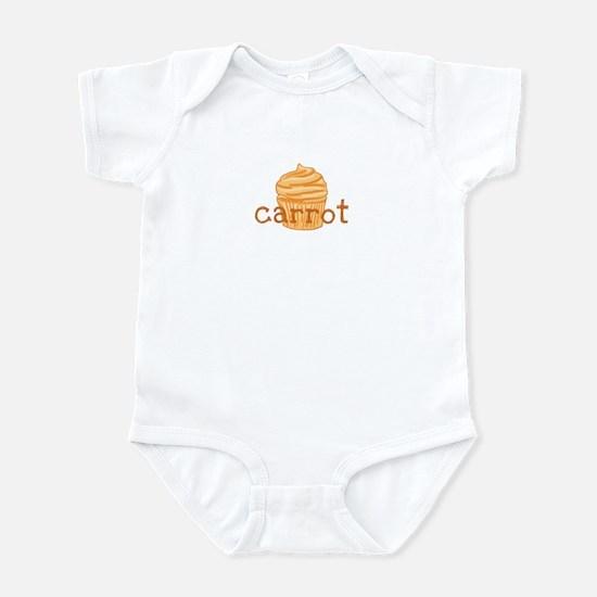 Carrot Cupcake - Infant Bodysuit
