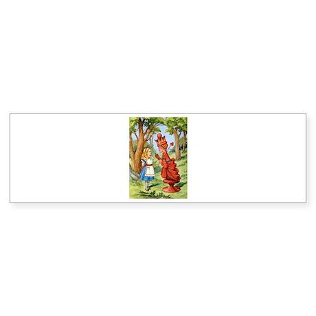 ALICE & THE RED QUEEN Sticker (Bumper)