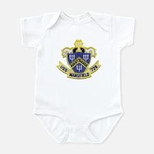 USS MANSFIELD Infant Bodysuit