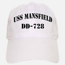 USS MANSFIELD Baseball Baseball Cap