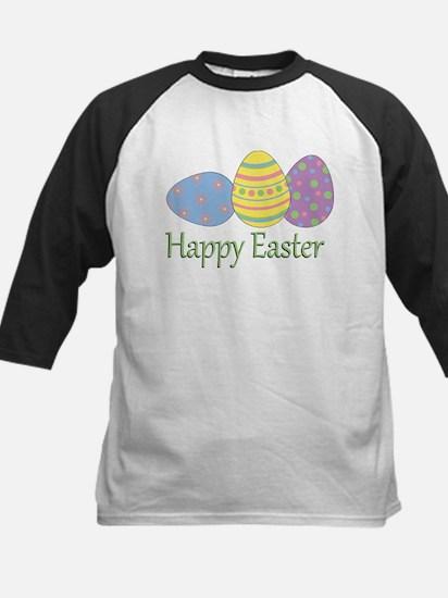 Happy Easter Kids Baseball Jersey