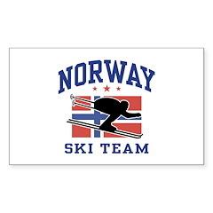 Norway Ski Team Decal