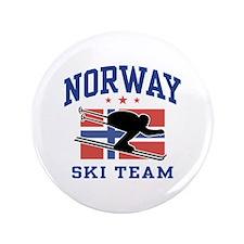 "Norway Ski Team 3.5"" Button"