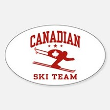 Canadian Ski Team Decal
