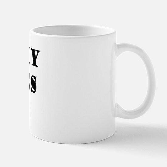Kiss my toches Mug