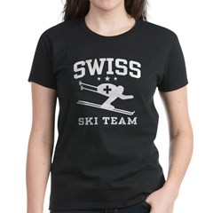 Swiss Ski Team Women's Dark T-Shirt