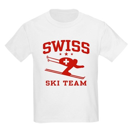 Swiss Ski Team Kids Light T-Shirt