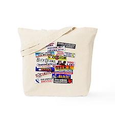 Anti Obama T-Shirt Tote Bag