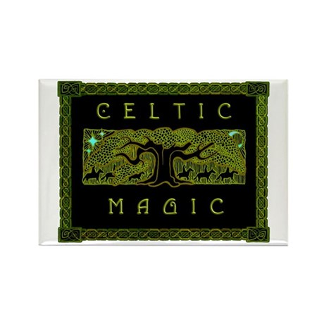 Celtic Magic - The Great Tree Rectangle Magnet (10
