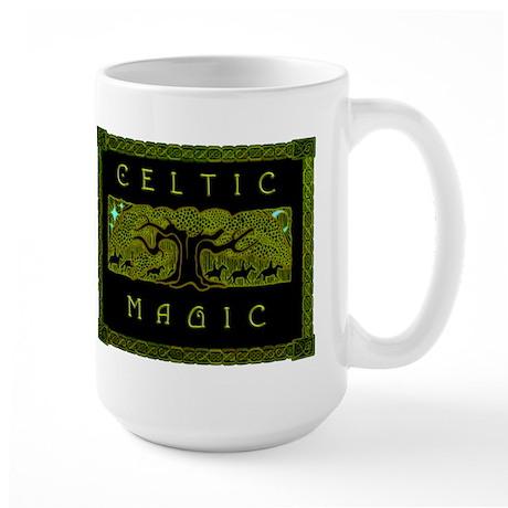 Celtic Magic - The Great Tree Large Mug