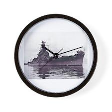 USS South Dakota BB 57 Wall Clock