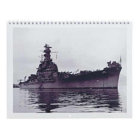 USS South Dakota Ship's Image Wall Calendar
