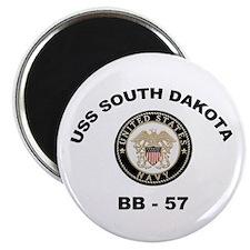 USS South Dakota BB 57 Magnet