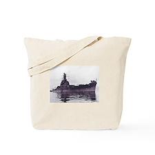 USS South Dakota Ship's Image Tote Bag