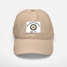 USS South Dakota BB 57 Baseball Baseball Cap