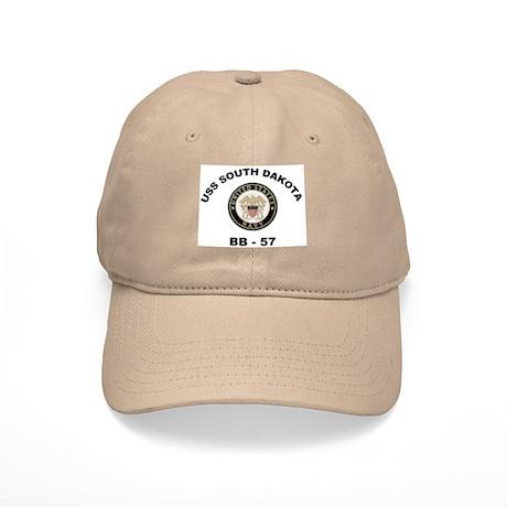 USS South Dakota BB 57 Cap