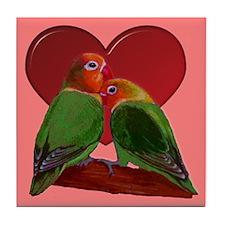 Lovebird Tile Coaster