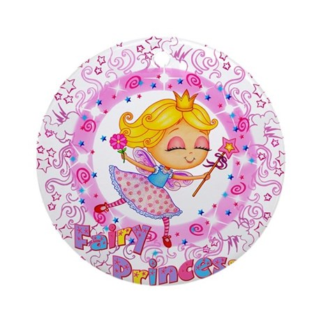Fairy Princess Ornament (Round)