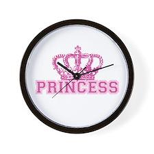 Crown Princess Wall Clock