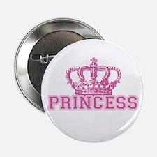 """Crown Princess 2.25"""" Button"""