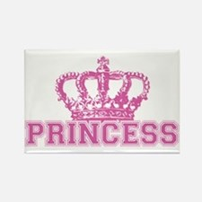 Crown Princess Rectangle Magnet