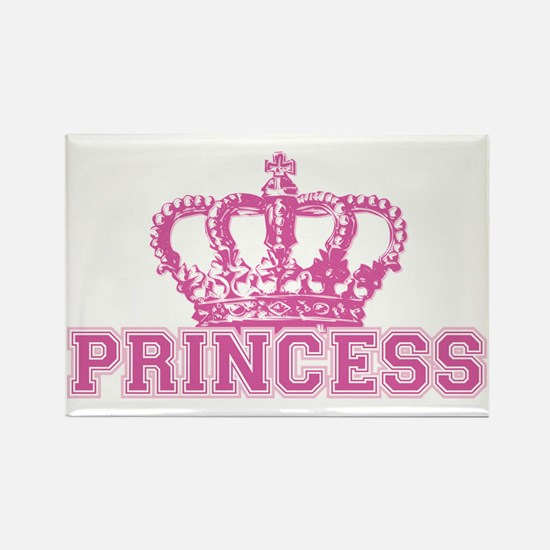 Crown Princess Rectangle Magnet