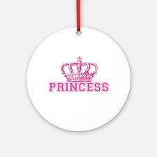 Crown Princess Ornament (Round)