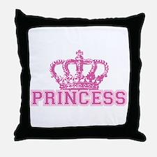 Crown Princess Throw Pillow