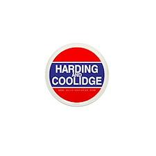 Harding and Coolidge Mini Button