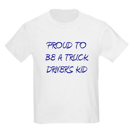 BLUE TRUCK DRIVERS KID T-Shirt