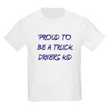 BLUE TRUCK DRIVERS KID T-Shirt