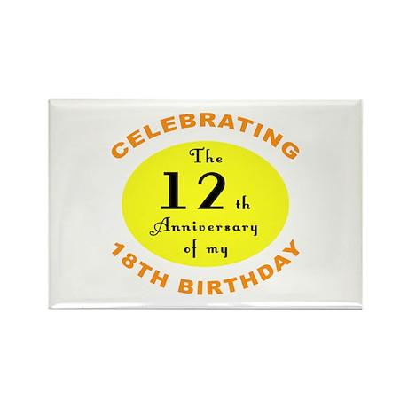 30th Birthday Anniversary Rectangle Magnet (10 pac