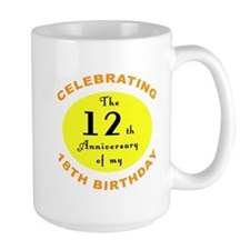 30th Birthday Anniversary Mug