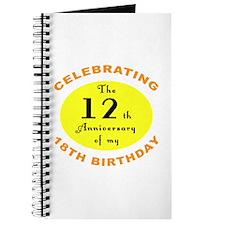 30th Birthday Anniversary Journal
