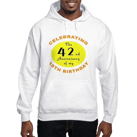 60th Birthday Anniversary Hooded Sweatshirt