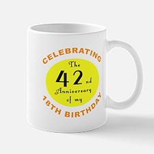 60th Birthday Anniversary Mug